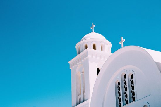 CHURCH , PAROS, CYCLADES, GREECE
