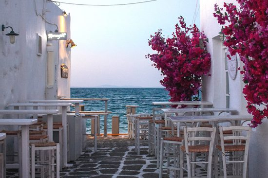 NAOUSSA, PAROS, CYCLADES, GREECE