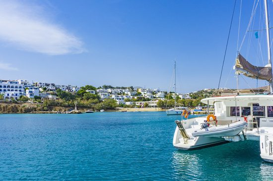 PAROS PORT, CYCLADES, GREECE